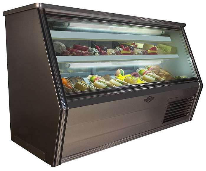 Universal Coolers FC72 - Single Duty Refrigerated Deli Display Case - 72